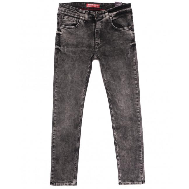6508 Fashion Red джинсы мужские с царапками серые осенние стрейчевые (29-36, 8 ед.) Fashion Red: артикул 1113408