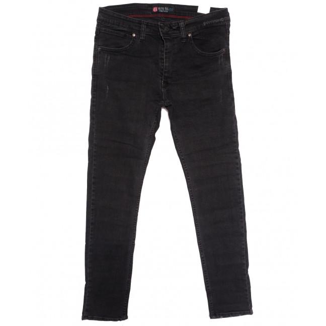 7041 Blue Nil джинсы мужские полубатальные с царапками серые осенние стрейчевые (32-40, 8 ед.) Blue Nil: артикул 1113740