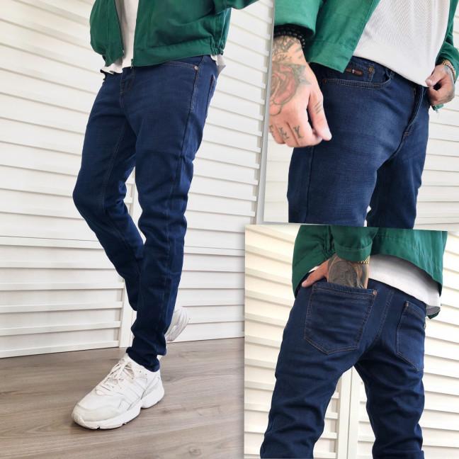 2087 Dsouaviet джинсы мужские синие на флисе зимние стрейчевые (29-38, 8 ед.) Dsouaviet: артикул 1103084