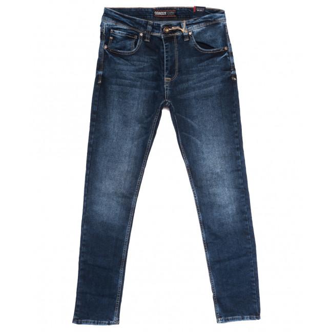 7112 Corcix джинсы мужские полубатальные синие осенние стрейчевые (32-40, 8 ед.) Corcix: артикул 1114033