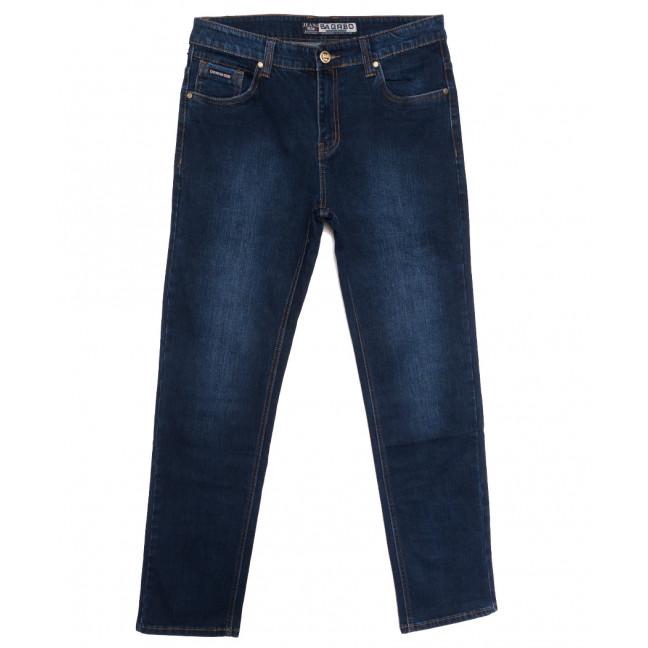 6187 Bagrbo джинсы мужские полубатальные синие осенние стрейчевые (32-38, 8 ед.) Bagrbo: артикул 1113743