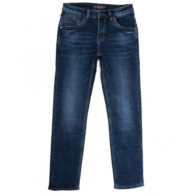 91128 Vifooss джинсы мужские синие осенние стрейчевые (30-40, 8 ед.) Vifooss: артикул 1113300