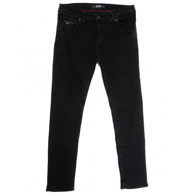 7164 Destry джинсы мужские с царапками темно-серые осенние стрейчевые (29-36, 8 ед.) Destry: артикул 1113421