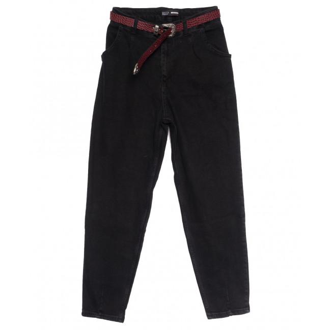 0901 Rocca Woman джинсы-баллон полубатальные темно-серые осенние стрейчевые (28-33, 6 ед.) Rocca Woman: артикул 1113980