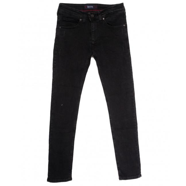 7154 Blue Nil джинсы мужские с царапками темно-серые осенние стрейчевые (29-36, 8 ед.) Blue Nil: артикул 1113417