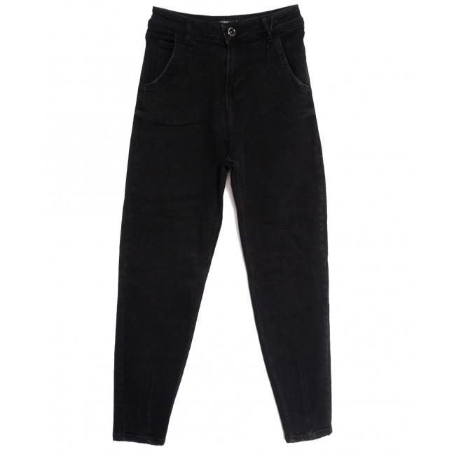 1031-1 Black Esqua джинсы-баллон черные осенние стрейчевые (25-30, 6 ед.) Esqua: артикул 1114835