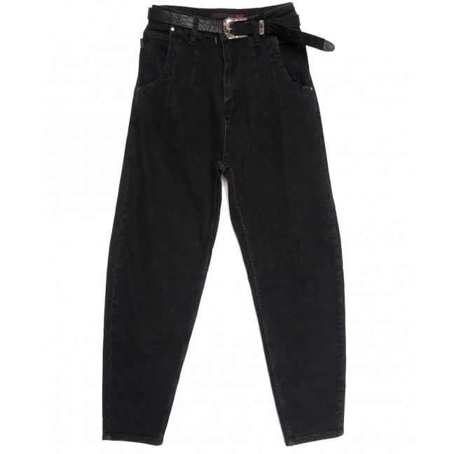 0919 Sherocco джинсы-баллон черные осенние стрейчевые (25-30, 6 ед.) SheRocco: артикул 1114452