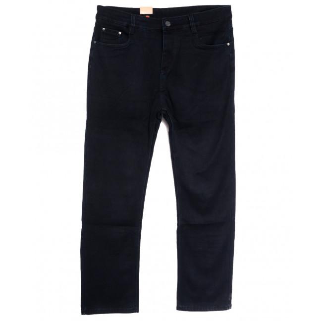87602 джинсы мужские полубатальные на флисе темно-синие зимние стрейчевые (32-40, 8 ед.) Джинсы: артикул 1114890