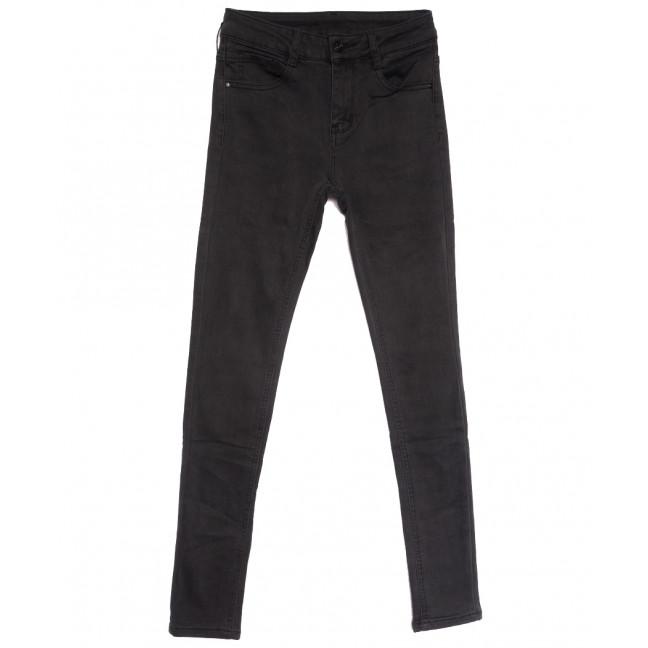 0168 (0168L) Lelena джинсы женские на байке серые зимние стрейчевые (25-30, 6 ед.) Lelena: артикул 1114468