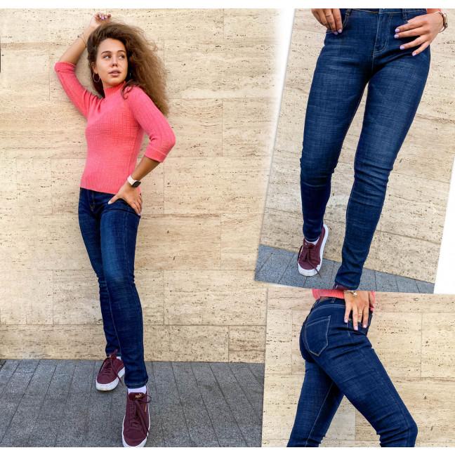 0106 Oemen джинсы женские на байке синие зимние стрейчевые (26-30, 5 ед.) Oemen: артикул 1116541