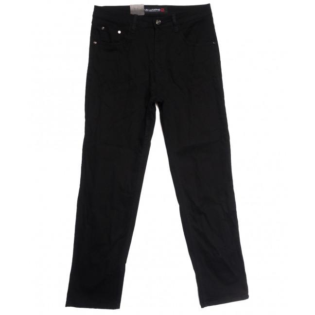 8816 LS джинсы мужские полубатальные черные осенние стрейчевые (32-40, 8 ед.) LS: артикул 1114231