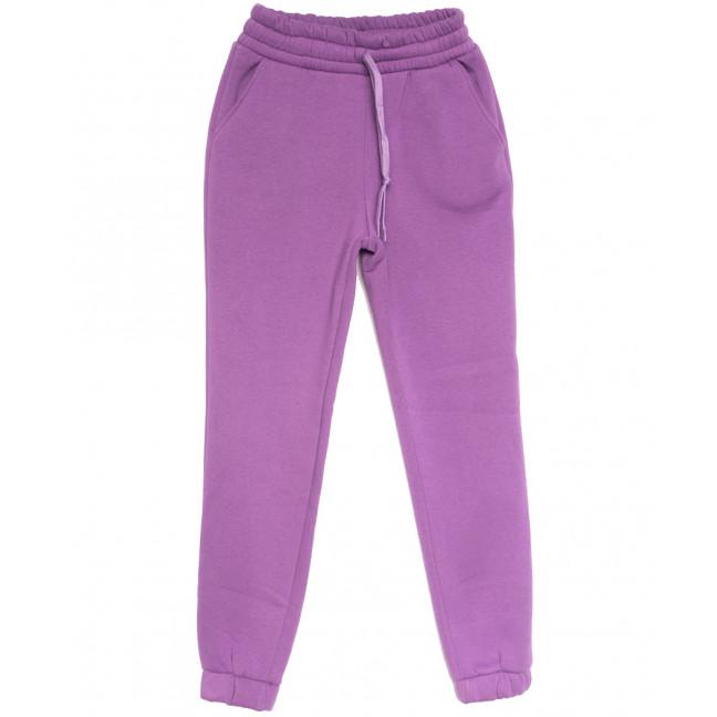0239 сиреневый Exclusive брюки женские на флисе спортивные зимние стрейчевые (42-48,норма, 4 ед.) Exclusive: артикул 1114629