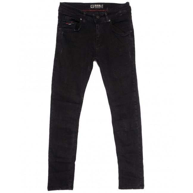 7166 Blue Nil джинсы мужские с царапками темно-серые осенние стрейчевые (29-36, 8 ед.) Blue Nil: артикул 1113724