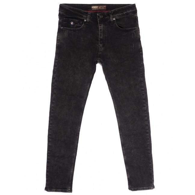 7254 Corcix джинсы мужские полубатальные с царапками серые осенние стрейчевые (32-40, 8 ед.) Corcix: артикул 1114031