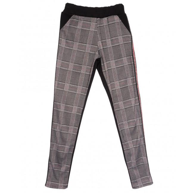 0218 темно-серые брюки женские спортивные осенние стрейчевые (42-46,норма, 3 ед.) Exclusive: артикул 1114598