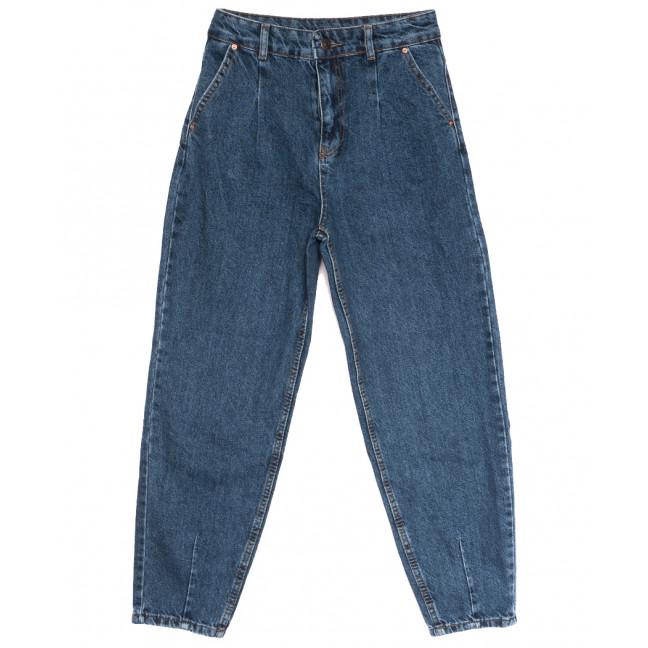 3811 джинсы-баллон синие осенние коттоновые (25-32, 8 ед.) Джинсы: артикул 1114049