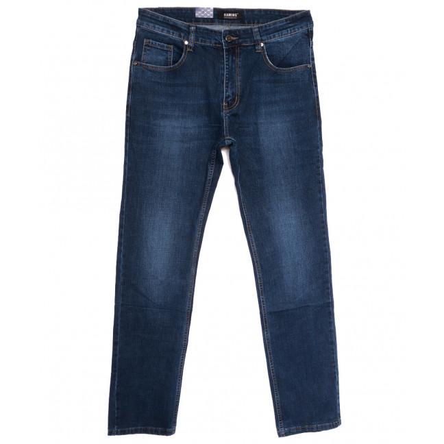 1216 Ramins джинсы мужские полубатальные синие осенние стрейчевые (32-42, 8 ед.) Ramins: артикул 1114561