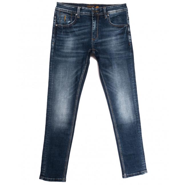 0017 JE джинсы мужские синие осенние стрейчевые (29-38, 8 ед.) JE: артикул 1113297
