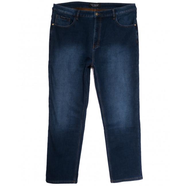 1078 Mark Walker джинсы мужские батальные на флисе синие зимние стрейчевые (41-46, 6 ед.) Mark Walker: артикул 1114675