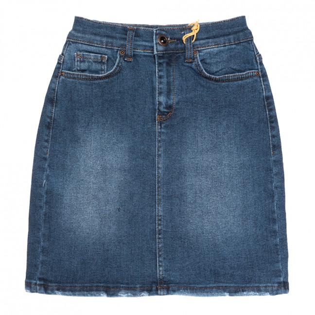0803 синяя Redmoon юбка джинсовая осенняя стрейчевая (25-30, 6 ед.) REDMOON: артикул 1113995