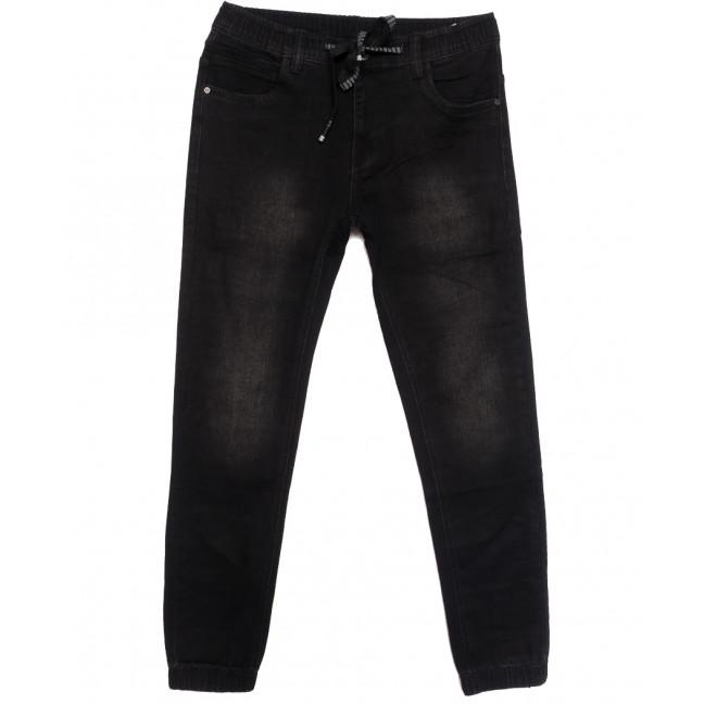 1530 Bagrbo джинсы мужские на резинке серые осенние стрейчевые (29-38, 8 ед.) Bagrbo: артикул 1113753