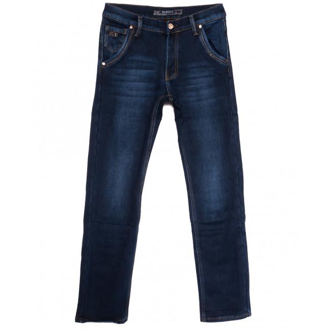 66047 Pr.Minos джинсы мужские на флисе синие зимние стрейчевые (29-38, 8 ед.) Pr.Minos: артикул 1114465
