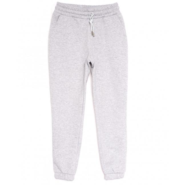 0239 серые Exclusive брюки женские на флисе спортивные зимние стрейчевые (42-48,норма, 4 ед.) Exclusive: артикул 1114626