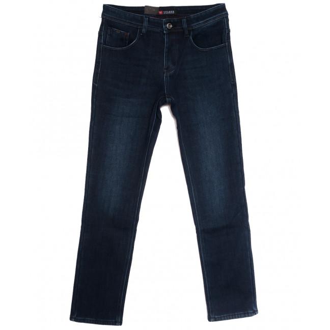 5116 Vitions джинсы мужские на флисе синие зимние стрейчевые (29-38, 8 ед.) Vitions: артикул 1114816