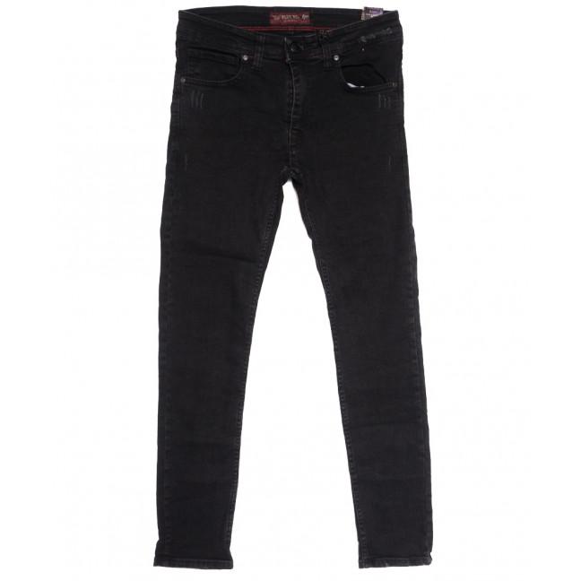 7199 Blue Nil джинсы мужские с царапками серые осенние стрейчевые (29-36, 8 ед.) Destry: артикул 1114029