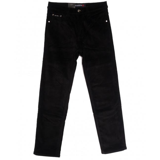 89024 LS джинсы мужские на флисе черные зимние стрейчевые (30-40, 8 ед.) LS: артикул 1114823
