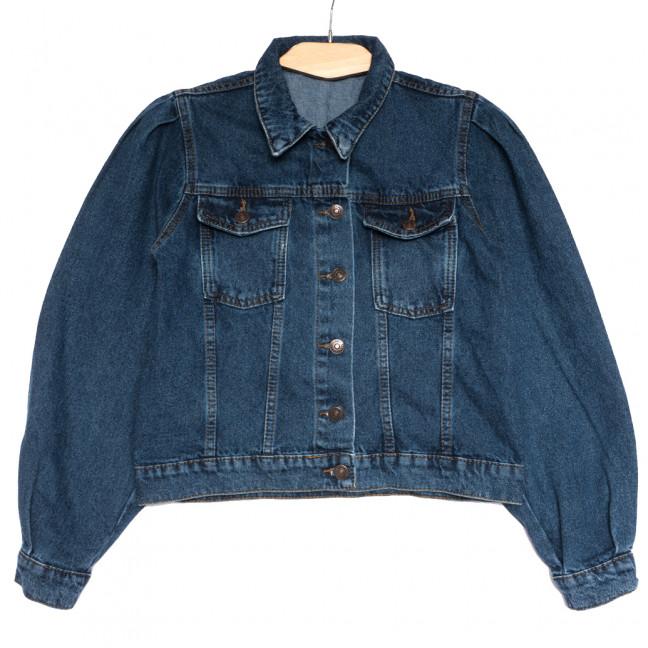 2882 куртка джинсовая женская синяя осенняя коттоновая (S-L, 5 ед.) Куртка: артикул 1114697