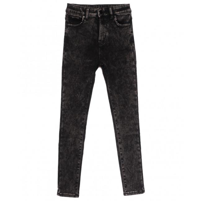 0570 New Jeans американка на флисе серая зимняя стрейчевая (25-30, 6 ед.) New Jeans: артикул 1113823