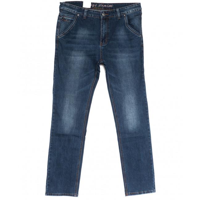 2624 джинсы мужские полубатальные синие осенние стрейчевые (32-38, 8 ед.) Rich Collection: артикул 1113563