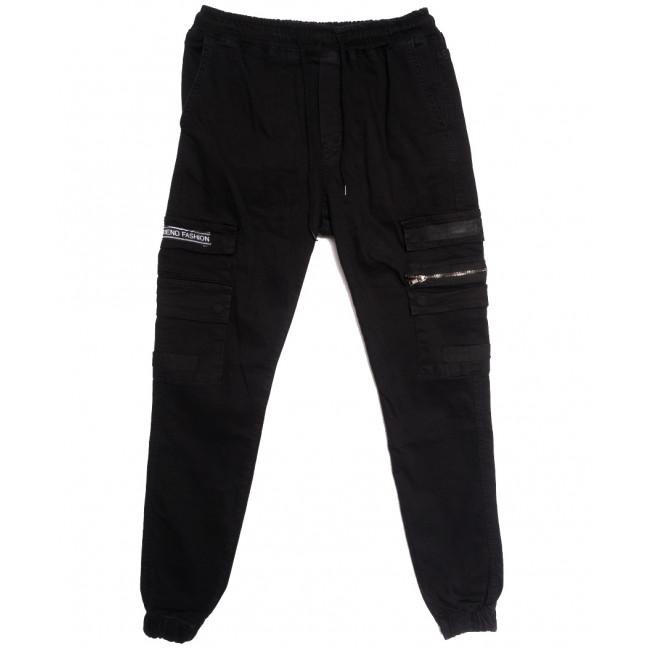 5894 Redman джинсы мужские на резинке черные осенние стрейчевые (29-36, 8 ед.) REDMAN: артикул 1114902