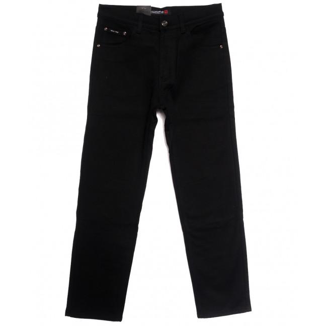 89020 LS джинсы мужские полубатальные на флисе черные зимние стрейчевые (32-38, 8 ед.) LS: артикул 1114819