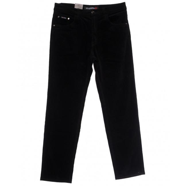 8810 LS брюки мужские вельветовые черные осенние стрейчевые (30-38, 8 ед.) LS: артикул 1114245