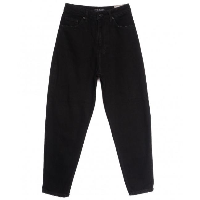 1775 Black Its Basic джинсы-баллон черные осенние коттоновые (34-42,евро, 6 ед.) Its Basic: артикул 1114324