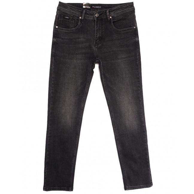 2145 Longli джинсы мужские полубатальные серые осенние стрейчевые (32-38, 8 ед.) Longli: артикул 1114672