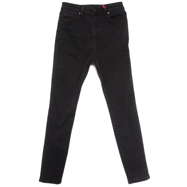0065 777Plus джинсы женские серые осенние стрейчевые (34-42,евро, 8 ед.) 777Plus: артикул 1113939