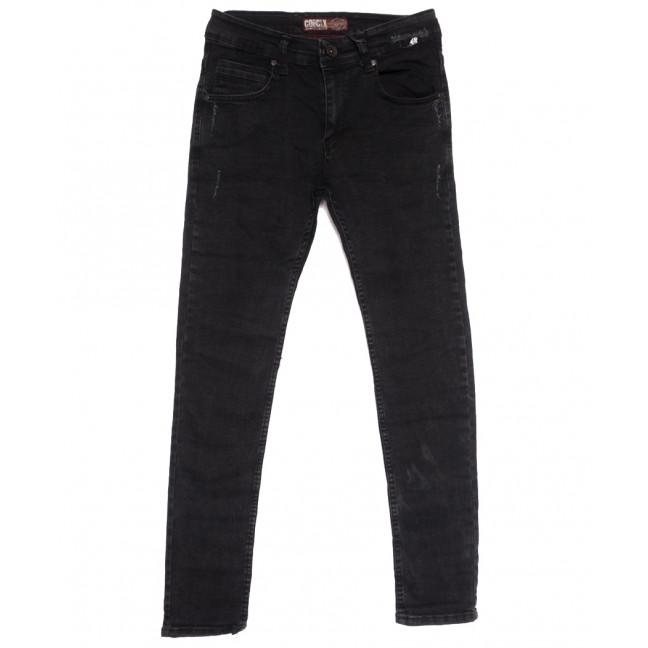 7171 Corcix джинсы мужские с царапками темно-серые осенние стрейчевые (29-36, 8 ед.) Corcix: артикул 1113725