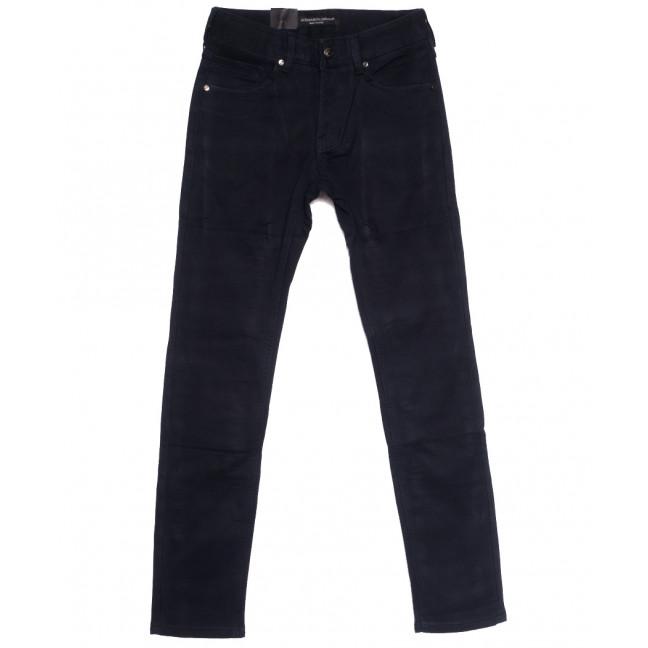 8692 God Baron джинсы мужские молодежные на флисе темно-синие зимние стрейчевые (27-34, 8 ед.) God Baron: артикул 1114420