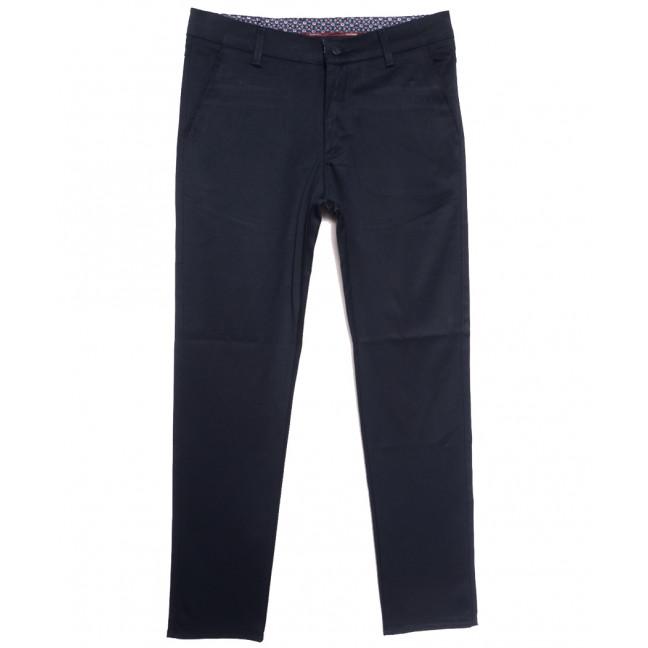 0905 синие Dawsin брюки мужские осенние стрейчевые (31-42, 8 ед.) Dawsin: артикул 1114906