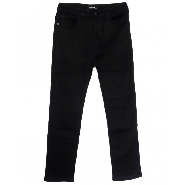 81523 Vanver джинсы женские батальные на флисе черные зимние стрейчевые (32-42, 6 ед.) Vanver: артикул 1114773