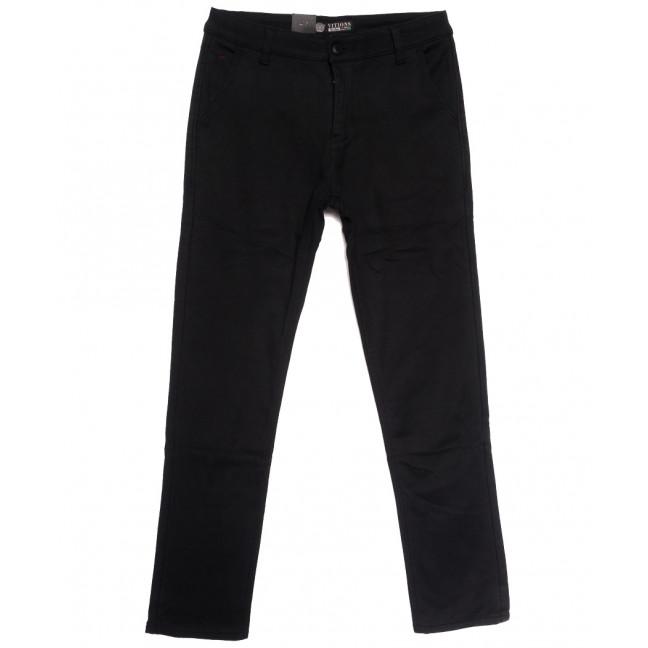 7069 Vitions брюки мужские на флисе черные зимние стрейчевые (29-38, 8 ед.) Vitions: артикул 1114584