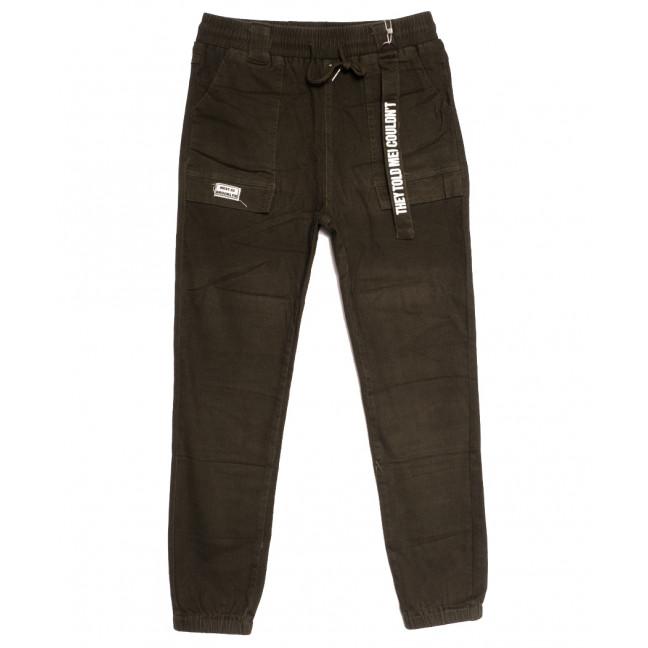0707 (707L) хаки Forest Jeans джоггеры женские осенние стрейчевые (25-30, 6 ед.) Forest Jeans: артикул 1113238