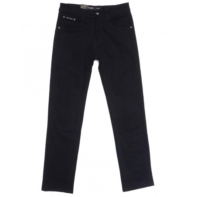 7047 Vitions джинсы мужские темно-синие осенние стрейчевые (30-40, 8 ед.) Vitions: артикул 1113627