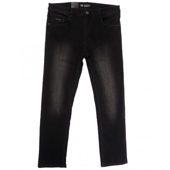 5080 (5080D) Vitions джинсы мужские батальные темно-серые осенние стрейчевые (34-44, 8 ед.) Vitions: артикул 1113619