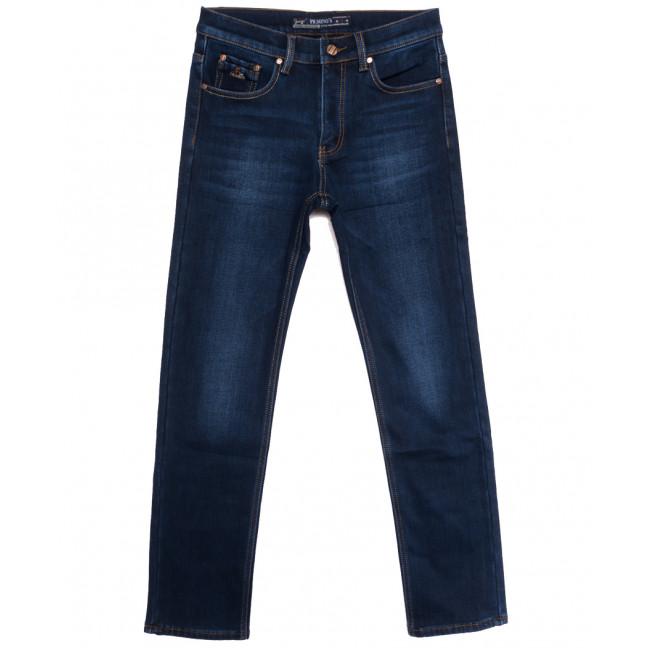 66045 Pr.Minos джинсы мужские на флисе синие зимние стрейчевые (29-38, 8 ед.) Pr.Minos: артикул 1114139