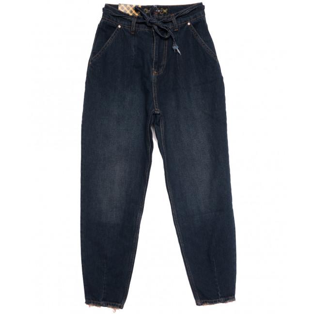 0849 темно-синие Redmoon джинсы-баллон осенние коттоновые (25-30, 6 ед.) REDMOON: артикул 1114015