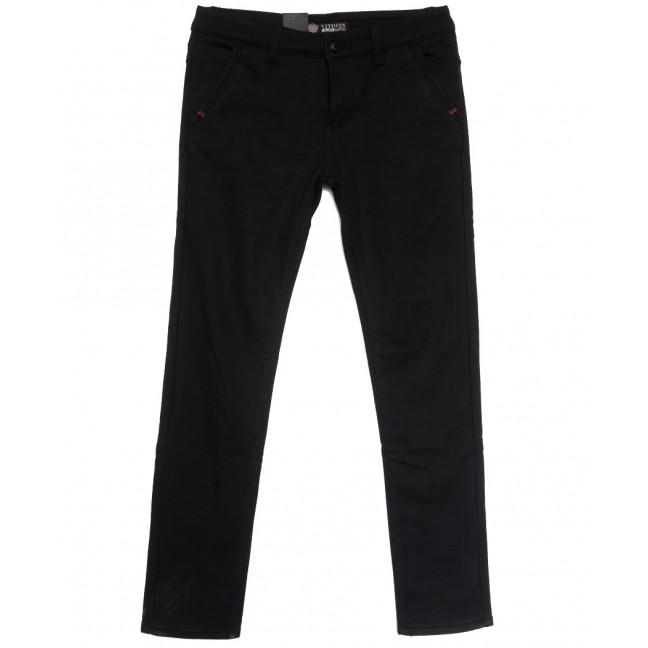7067 Vitions брюки мужские молодежные на флисе черные зимние стрейчевые (27-34, 8 ед.) Vitions: артикул 1114590